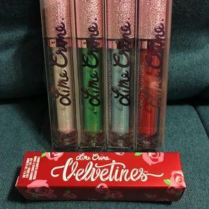 Lime Crime Liquid Lipstick & Diamond Crushers (5)